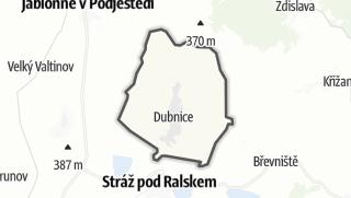 מפה / Dubnice
