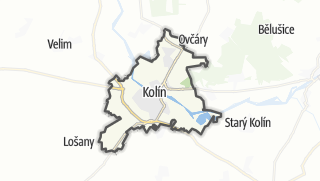 Karte / Kolín