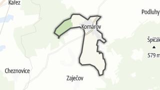 מפה / Komárov