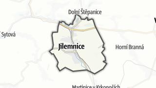 Karte / Jilemnice