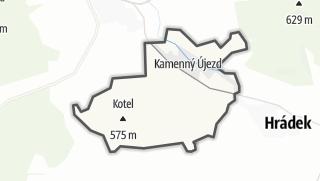 מפה / Kamenný Újezd