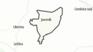 Hartă / Javorník