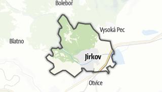Térkép / Jirkov