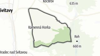Mapa / Kamenná Horka