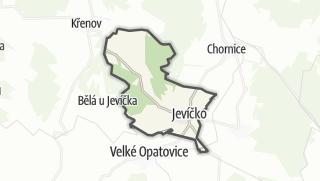 Mapa / Jevíčko