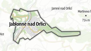 מפה / Jablonné nad Orlicí