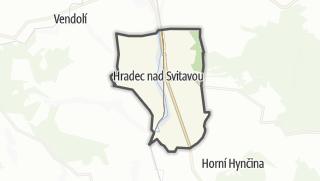 Cartina / Hradec nad Svitavou
