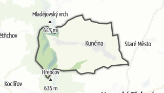Mapa / Kunčina