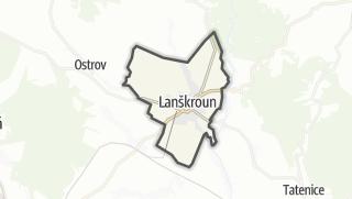 מפה / Lanškroun