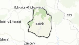 Hartă / Kunvald