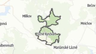 Karte / Lázně Kynžvart