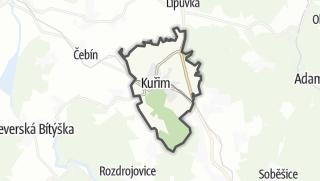 Karte / Kuřim