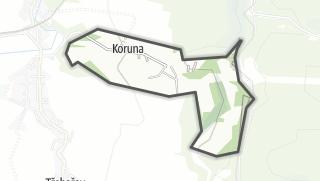 Mapa / Koruna
