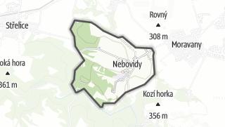 מפה / Nebovidy