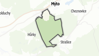 Karte / Medový Újezd