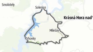מפה / Milešov