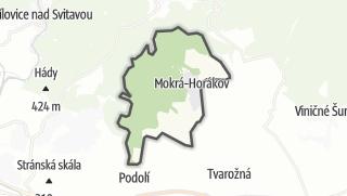 Karte / Mokrá-Horákov