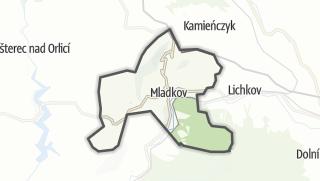 Hartă / Mladkov