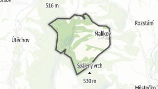 Mapa / Malíkov