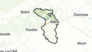 Térkép / Málkov