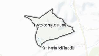 Mapa / Hoyos de Miguel Muñoz
