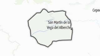 Mapa / San Martín de la Vega del Alberche