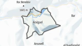 地图 / Arsèguel