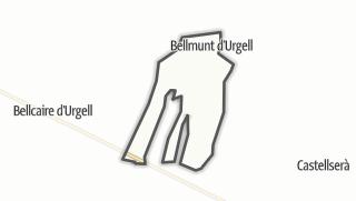 地图 / Bellmunt d'Urgell