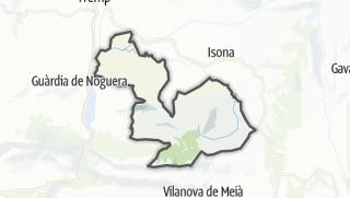 地图 / Gavet de la Conca