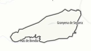 地图 / Granyena de Segarra