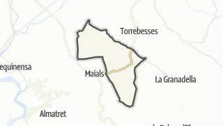 地图 / Llardecans