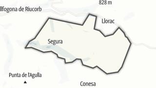 地图 / Savallà del Comtat