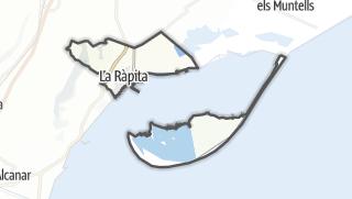 地图 / Sant Carles de la Ràpita