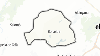 地图 / Bonastre