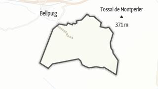 地图 / Preixana