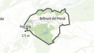 地图 / Bellmunt del Priorat