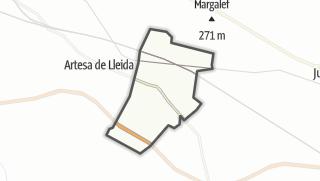 地图 / Puigverd de Lleida