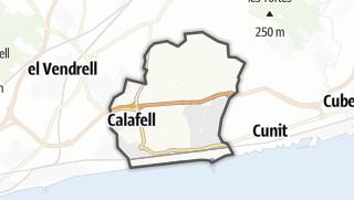 地图 / Calafell