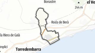 地图 / Creixell