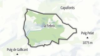 地图 / la Febró