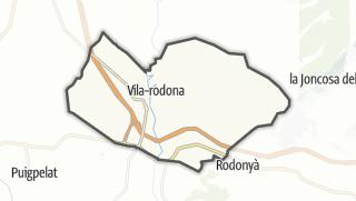 地图 / Vila-rodona