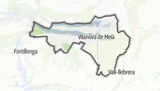地图 / Vilanova de Meià