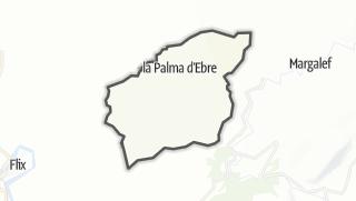 地图 / la Palma d'Ebre