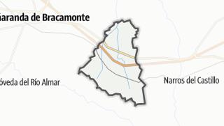 Mapa / Gimialcón
