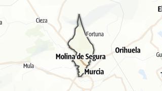 Térkép / Molina de Segura