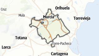 Térkép / Murcia