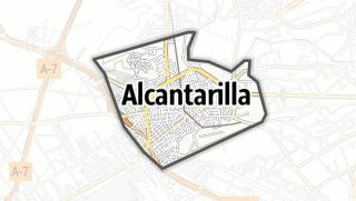 Térkép / Alcantarilla