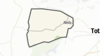 Térkép / Aledo