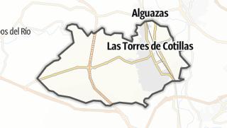 Térkép / Las Torres de Cotillas