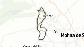Térkép / Villanueva del Río Segura